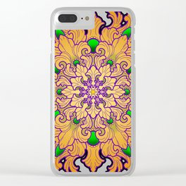 Filigree v2 Clear iPhone Case