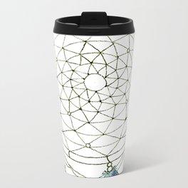 Digital DreamCatcher  Metal Travel Mug