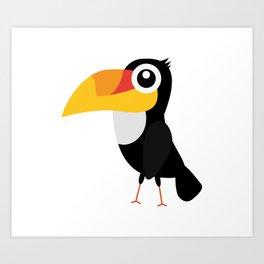 Toucan Bird Art Print