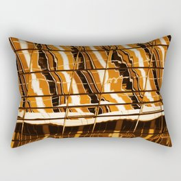 Abstract architecture pattern texture background Rectangular Pillow