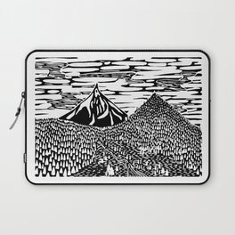 Mountain Block Print Laptop Sleeve
