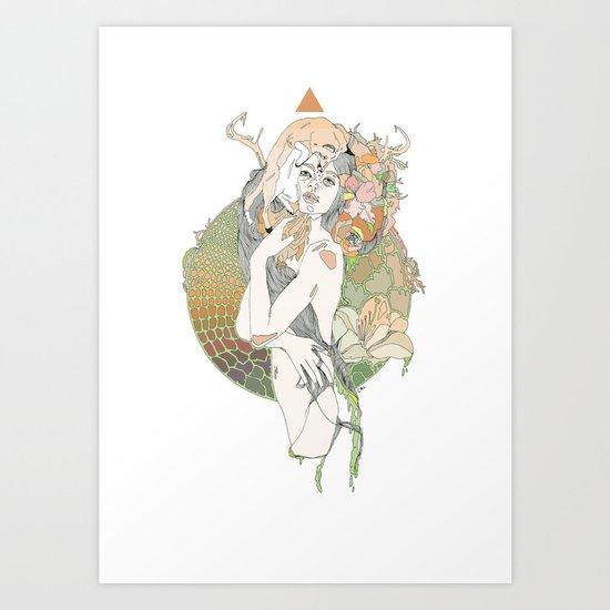 pistil Art Print
