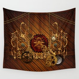 Steampunk, elegant  design Wall Tapestry