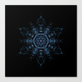 Megrez Star Mandala Canvas Print