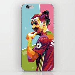 Zlatan Ibrahimovic alt-color WPAP iPhone Skin