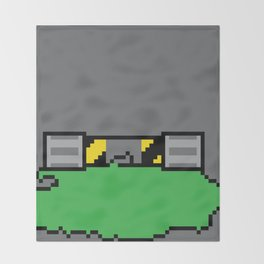 Teenage Mutant Ninja Pixels Throw Blanket