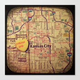 Dream Big Kansas City Canvas Print