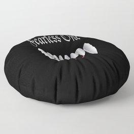Fearless One logo Floor Pillow