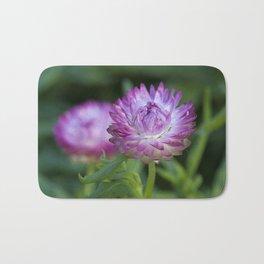 Straw Flower Bath Mat