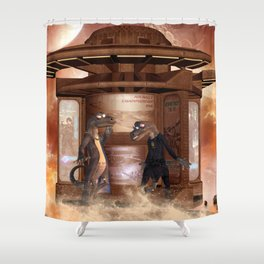 The friends Shower Curtain