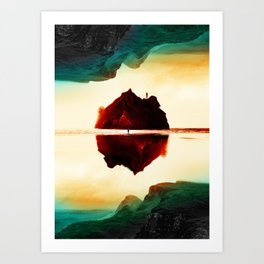 Isolation Island Art Print