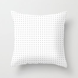 Dotted Paper Throw Pillow