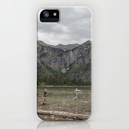 Avalanche Lake No. 1 - Glacier NP iPhone Case