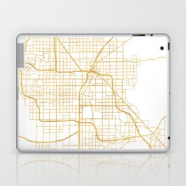 LAS VEGAS NEVADA CITY STREET MAP ART Laptop & iPad Skin