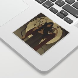 Hunter's Moon Sticker