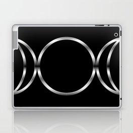 Triple Goddess Symbol Laptop & iPad Skin