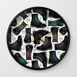 Rock'n'Shoes Wall Clock