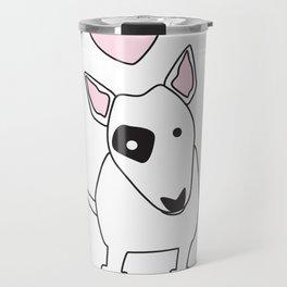 Bullterrier Love Travel Mug