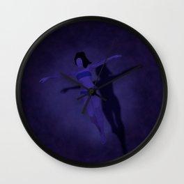 Midnight Swim Wall Clock