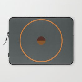 catch    anthracite & ocher Laptop Sleeve