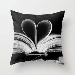 The Heart that Bends doesn't break. Throw Pillow
