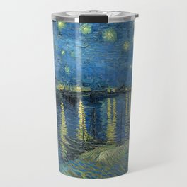 Starry Night Over the Rhône Travel Mug