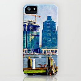 Baltimore Skyline, Locust Point, Maryland, Charm City, Inner Harbor, Wall art, Baltimore Cityscape, iPhone Case