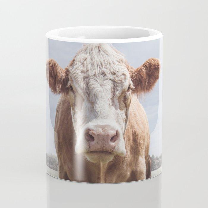 Animal Photography | Cow Portrait Photography | Farm animals Coffee Mug