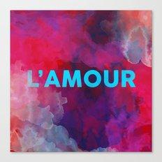 L'amour Canvas Print