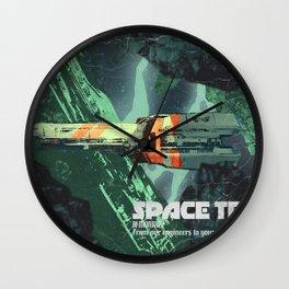 space Tech Bi-Monthley Wall Clock