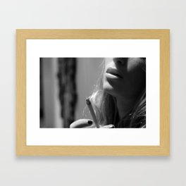 Where There is Smoke Framed Art Print