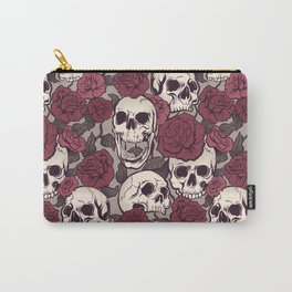 Rock and Roses Carry-All Pouch