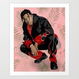 ASAP ROCKy Art Print