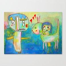 A Friend Canvas Print
