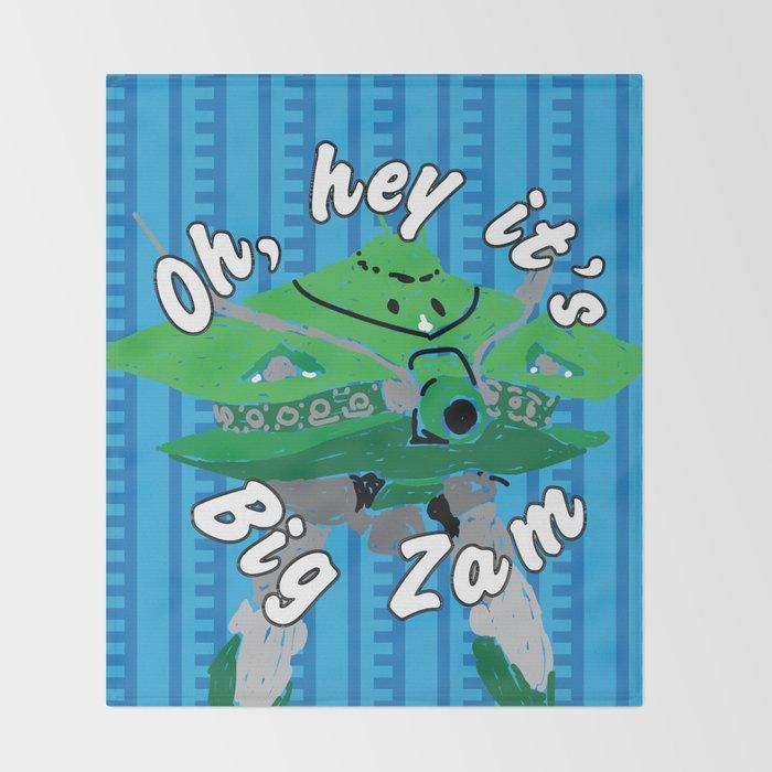 Big Zam Throw Blanket