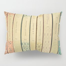 Old Books Pillow Sham