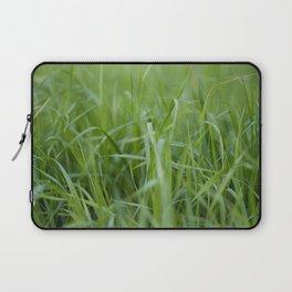 Green field Laptop Sleeve