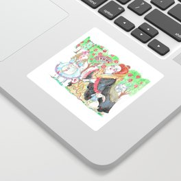 Alice's Adventures In Wonderland: Queen Of Hearts Sticker