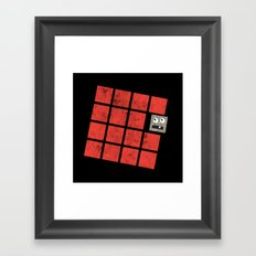 Just Trying to Fit In Framed Art Print