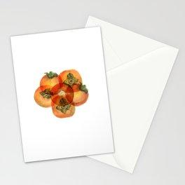 Pesimmons Fruit Stationery Cards