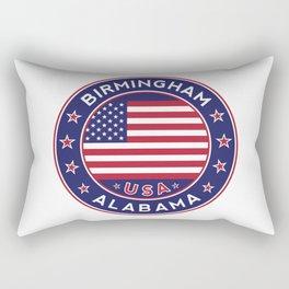Birmingham, Alabama, Alabama tshirt, Alabama sticker Rectangular Pillow