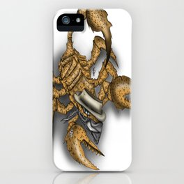 Texas Scorpion iPhone Case