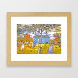 Pop Art Church Framed Art Print