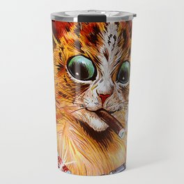 "Louis Wain's Cats ""Tom Smith's Crackers"" Travel Mug"