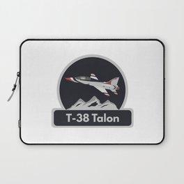 T-38 Talon Jet Trainer Airplane Laptop Sleeve