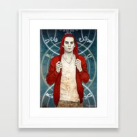 stiles Framed Art Prints featuring Stiles demon by Sudjino