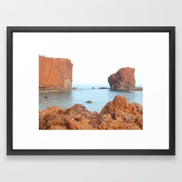 Sweetheart Rock Framed Art Print