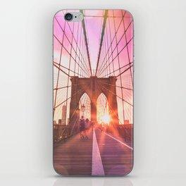 NYC Brooklyn Bridge iPhone Skin