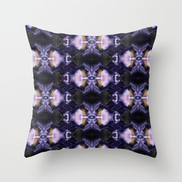 Flow I Abstract Throw Pillow