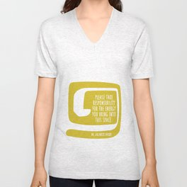 This Space Unisex V-Neck